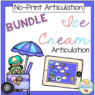 No print articulation ice cream