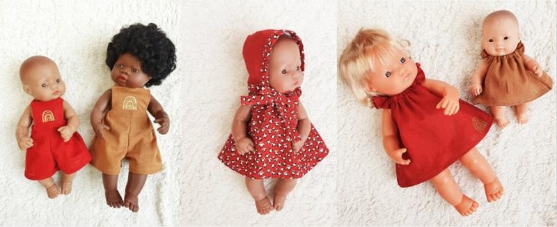 izzys closet miniland dolls clothes