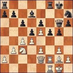 Partida de ajedrez Travesset-Cabré 1982, posición después de 18.Tcf1