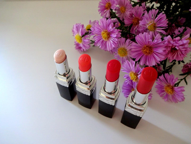 dior rouge baume, rossetto idratante, balsamo labbra colorato, dior vernis, dior blush, dior contour