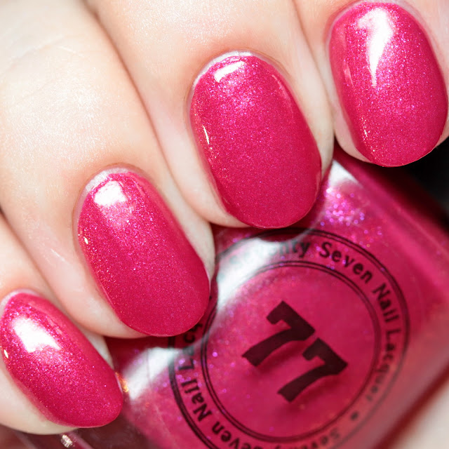 Seventy-Seven Nail Lacquer Fight Like Hell