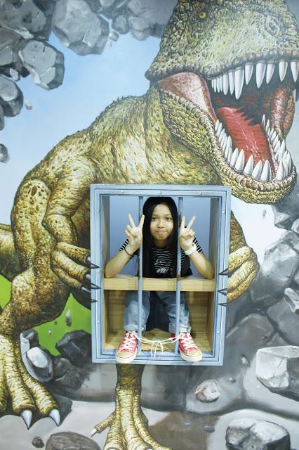 Foto Narsis di Trick Eye Museum Singapore