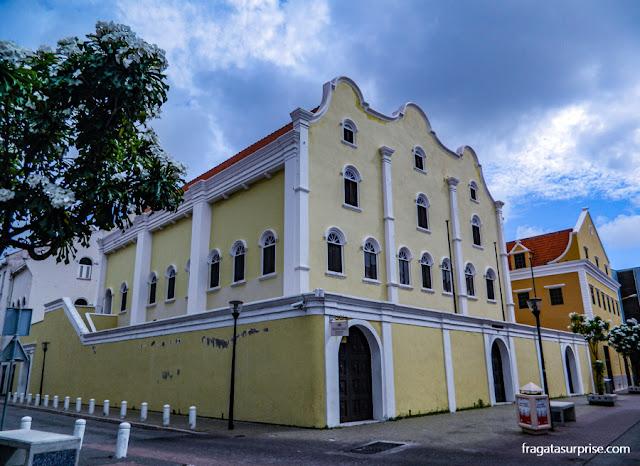 Sinagoga Mikve Israel-Emanuel, em Willemstad, Curaçao