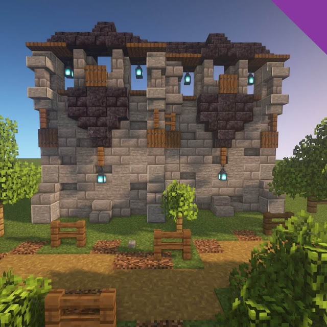 Minecraft Wall Ideas