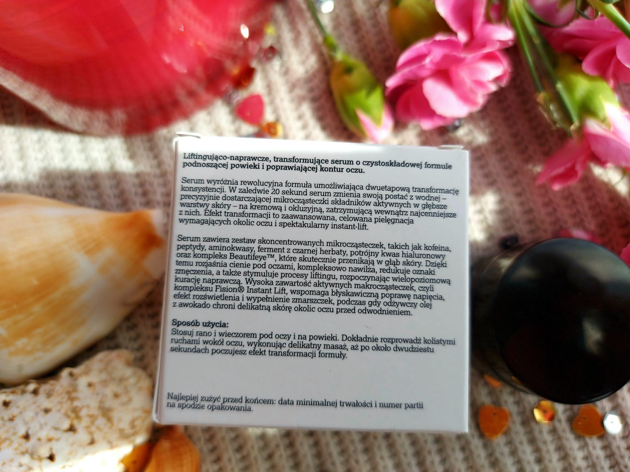 20 SECONDS MAGIC EYE TREATMENT - naturalny krem pod oczy od Veoli Botanica Aneta Lason Beauty Talks