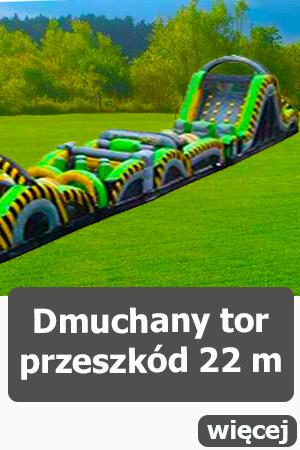 Dmuchane tory przeszkód Wrocław