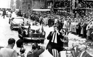 Van Cliburn en el desfile de Nueva York