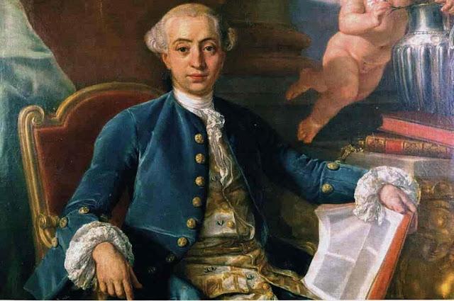 O Aventureiro Giacomo Casanova