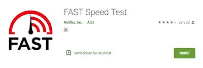 aplikasi tes kecepatan internet fast apk