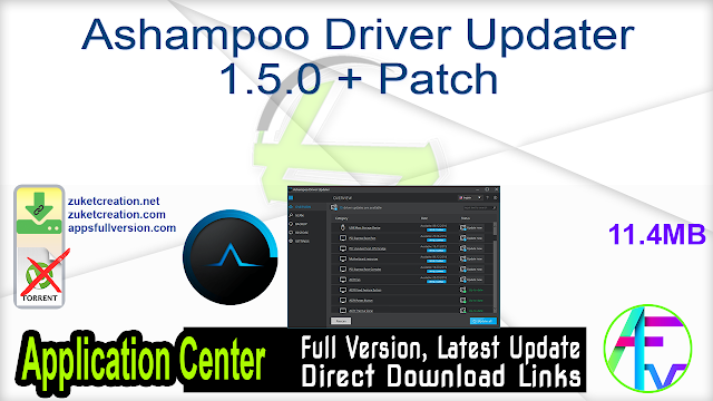 Ashampoo Driver Updater 1.5.0 + Patch