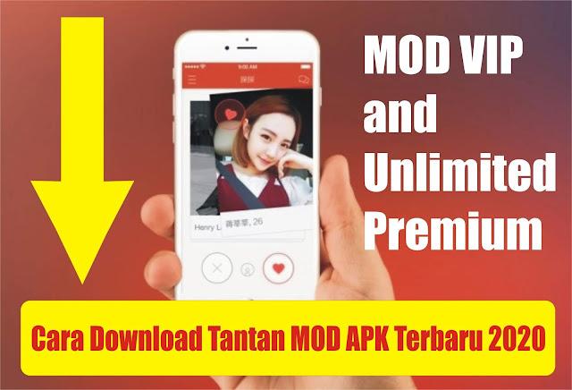 Cara Download Tantan MOD APK VIP Unlimited Premium Hack Update Terbaru 2020