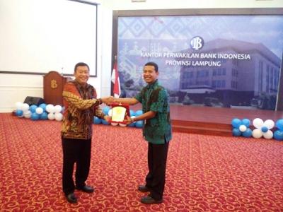 Kuliah Umum Bersama Mahasiswa FEB UNILA dan UIN RIL, BI Bentuk Forum Investasi Lampung