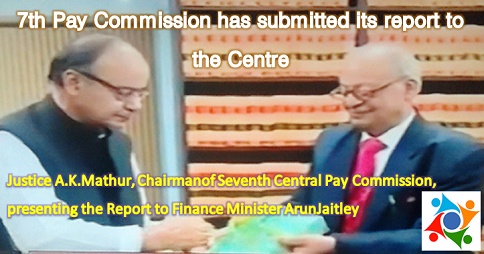 Pay pdf central report 7th commission news