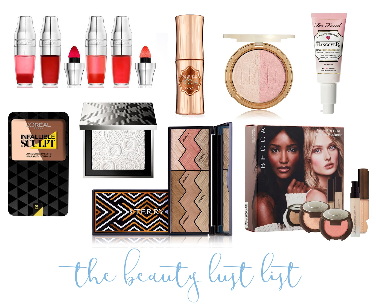 The Beauty Lust List