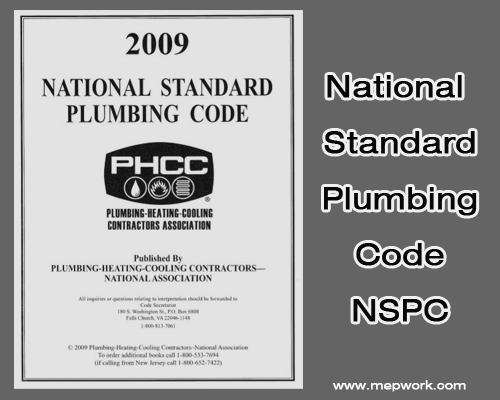 Download National Standard Plumbing Code - NSPC