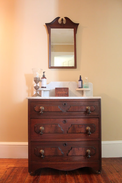 Papered House_Antique Washstand