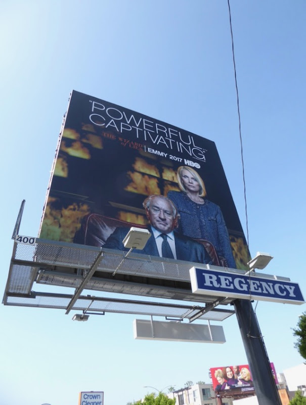 Wizard of Lies 2017 Emmy FYC billboard