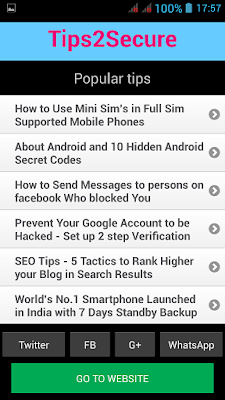how to create own android app