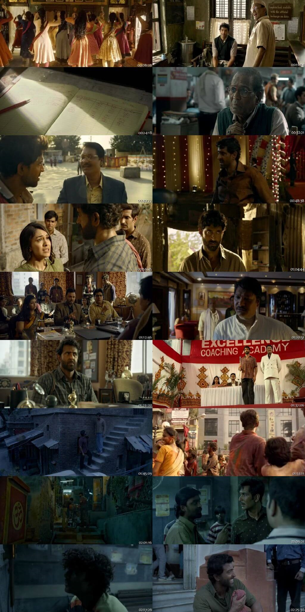 Screen Shot Of Super 30  2019 Full Movie Free Download HD 720P Watch Online