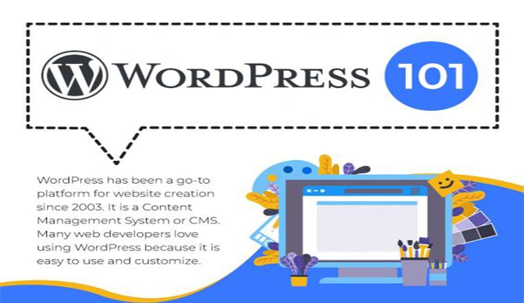 WordPress Development 101 #infographic