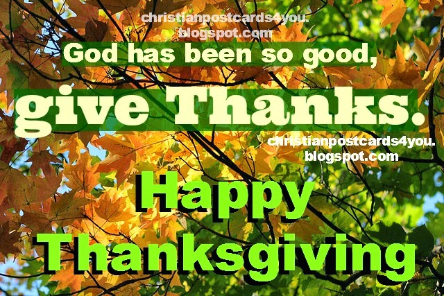 christian quotes in thanksgiving blessings God is good