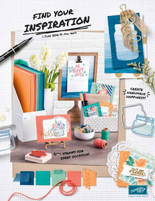 Stampin' Up!®  2016 - 2017 annual catalogue