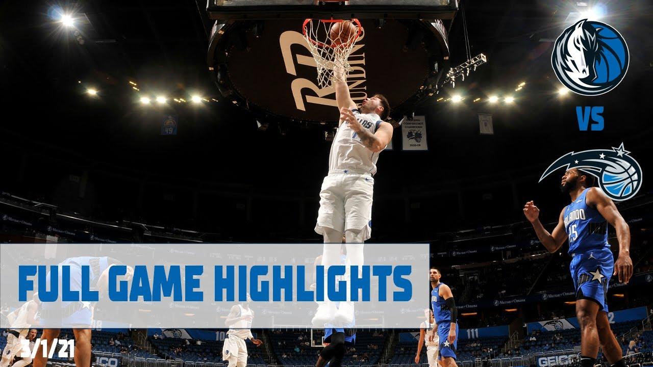 Luka Doncic 33pts 10reb 9ast vs ORL | March 1, 2021 | 2020-21 NBA Season