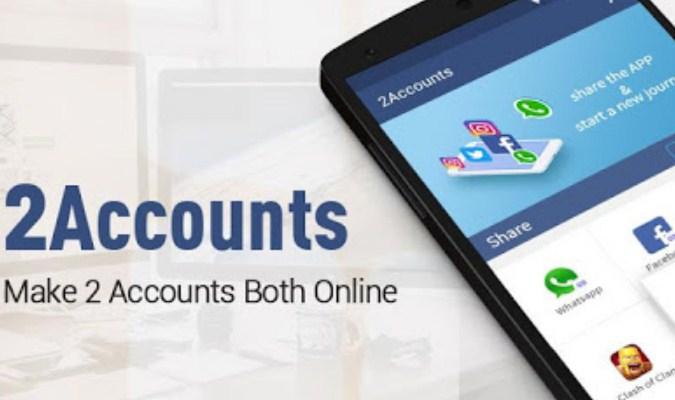 Aplikasi tuk Jalankan Dua Akun WhatsApp - 2Accounts