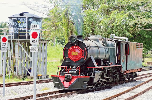 18. North Borneo Railway