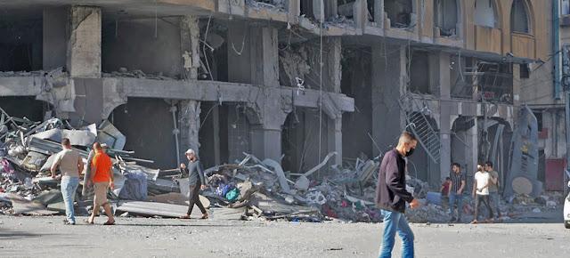 La escalada de las hostilidades en la Franja de Gaza ha provocado más víctimas y desplazamientos a gran escala, 12 de mayo de 2021.OCHA