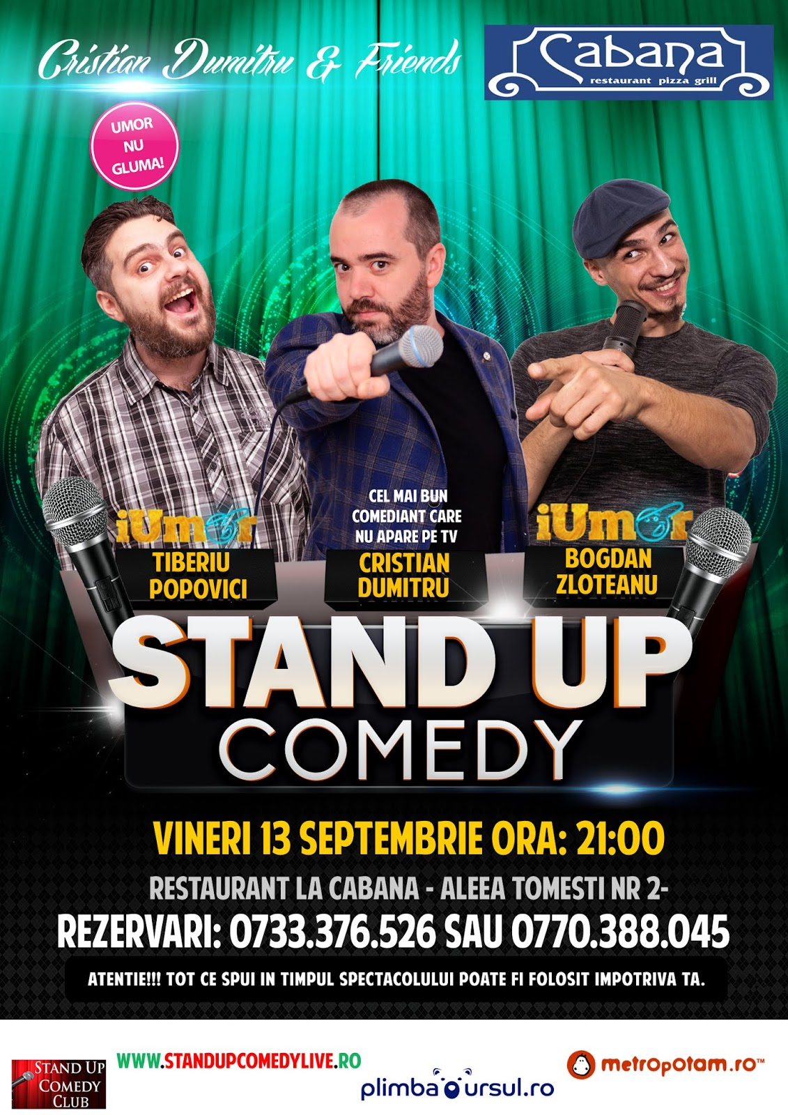 Stand-Up Comedy in Bucuresti