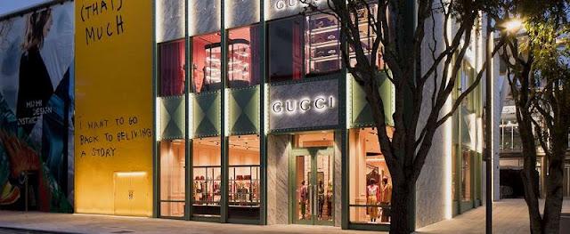 Lojas Gucci em Miami e Orlando