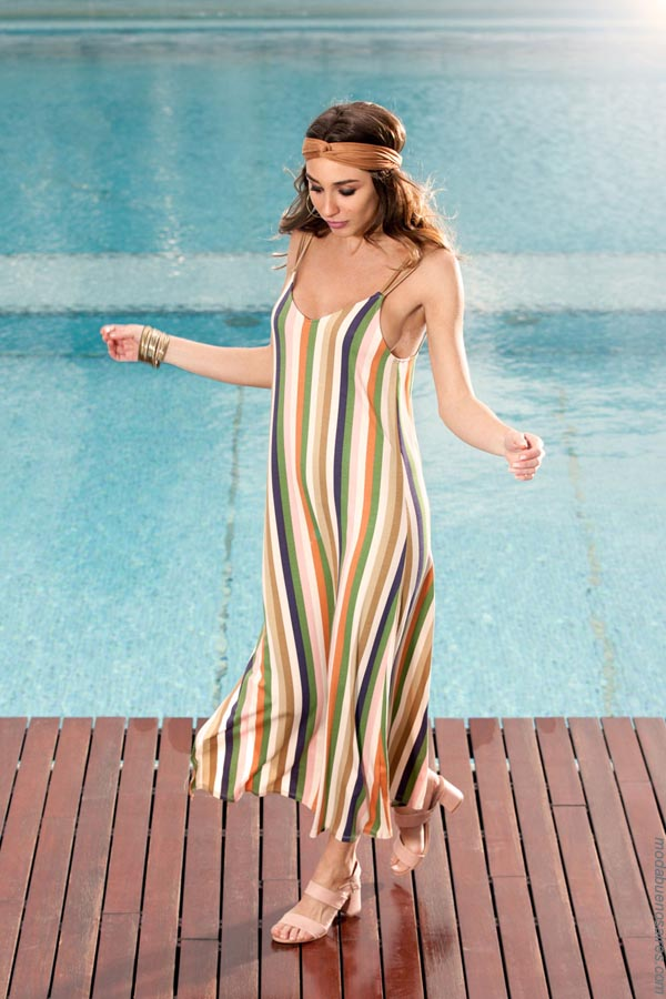 Vestidos de moda 2019. Moda mujer primavera verano 2019 vestidos. │ Moda verano 2019.