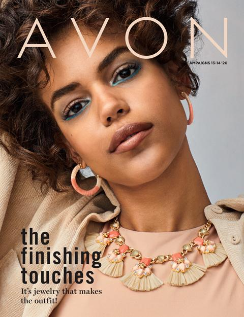 AVON THE FINISHING TOUCHES BROCHURE CAMPAIGN 13 - 14 2020
