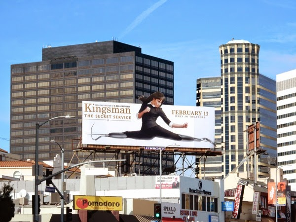 Kingsman Secret Service billboard
