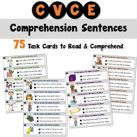CVCE Task Cards for Comprehension