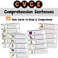 Silent E Comprehension Sentences