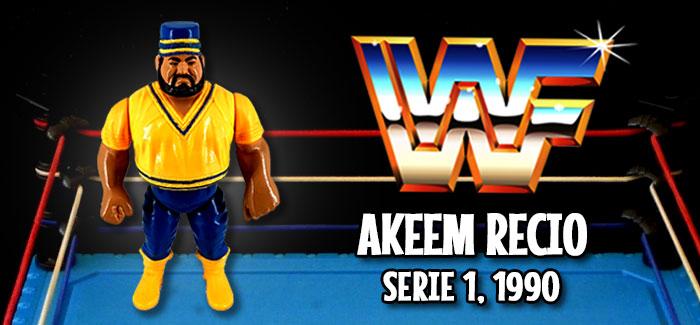 Figura Pressing Catch: Akeem Recio (Hasbro, 1990)