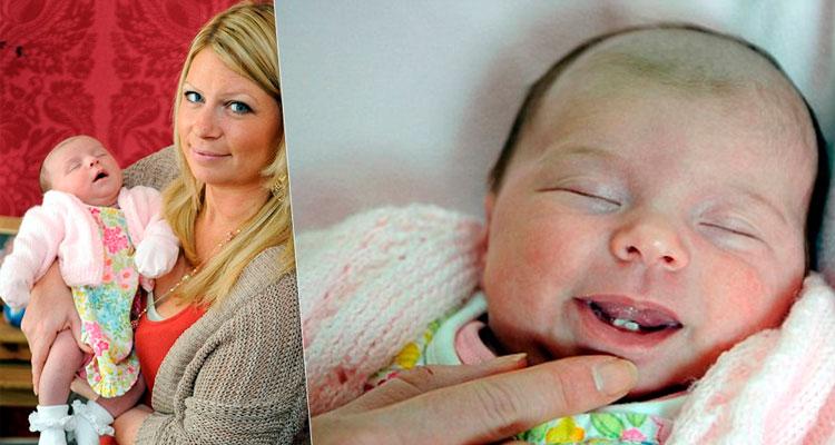 Summer Whelan já nasceu sorrindo - Foto: Reprodução