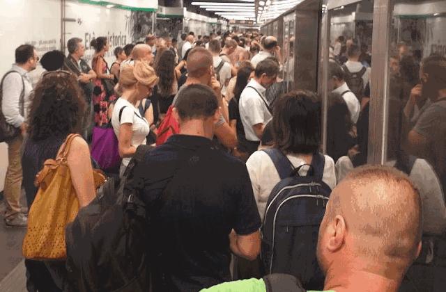 Le Metro C è una linea perennemente sostituita da navette