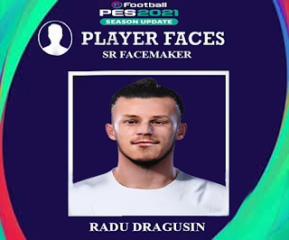 PES 2021 Faces Radu Dragusin by SR