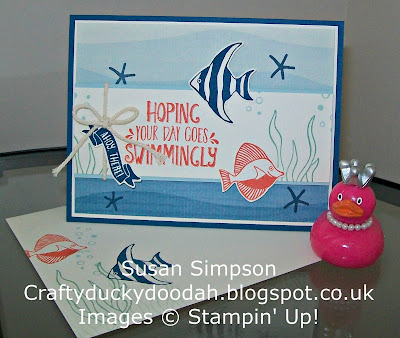 Stampin' Up! UK Independent Demonstrator Susan Simpson, Craftyduckydoodah!, Review of 2016 Part III, Seaside Shore, Supplies available 24/7,