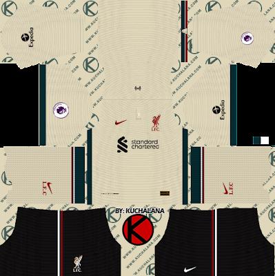 Liverpool FC 2021-22 Nike Kit - DLS2019