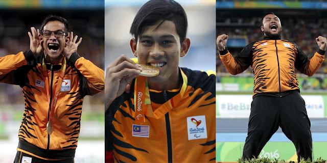 Atlet Malaysia Paralimpik Tokyo 2020