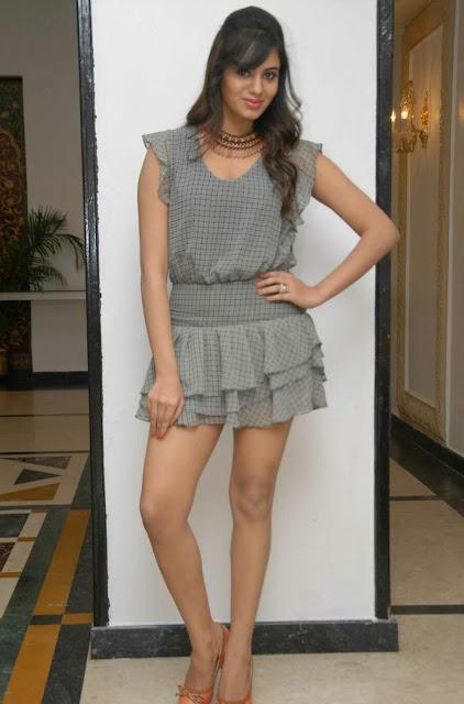 Kannada Actress Deepa Sannidhi Latest Hot Pics in Short Skirt Navel Queens