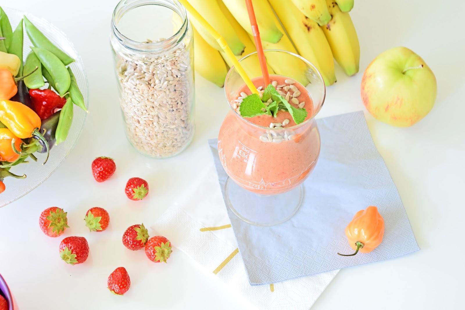 koktajl z owoców