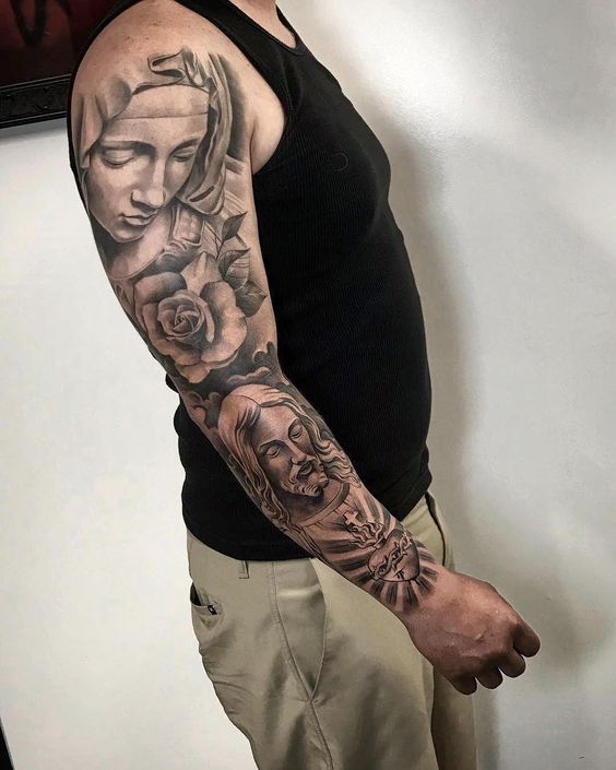 60+ Sleeve Tattoo Designs For Men