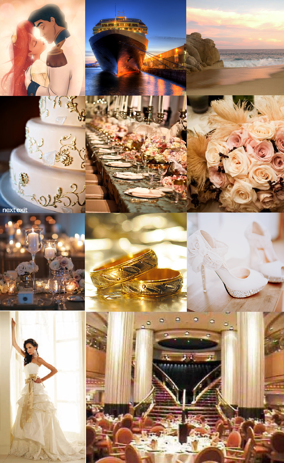 A Magical Wedding Guide The Little Mermaid Wedding Theme Inspiration