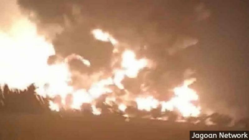 Kondisi kilang minyak Indramayu. (ANTARA/Ho Warga)