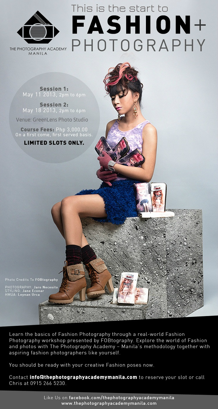 The Photography Manila: Fashion + Photography